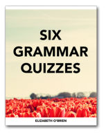 Six Grammar Quizzes Ebook