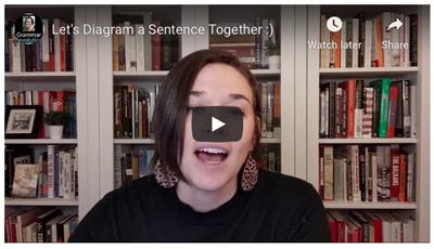 Victor Hugo Sentence Diagramming Video