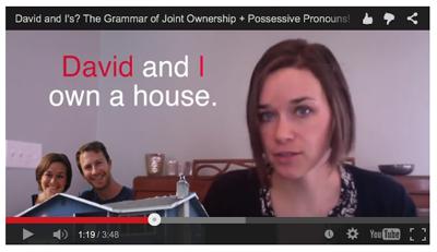 Possessives Video