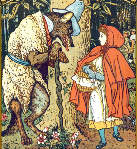 red riding hood exclamatory sentence
