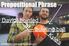 Prepositional Phrase Diagram
