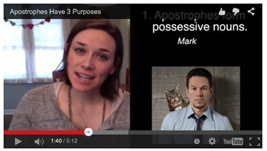 Apostrophe video lesson