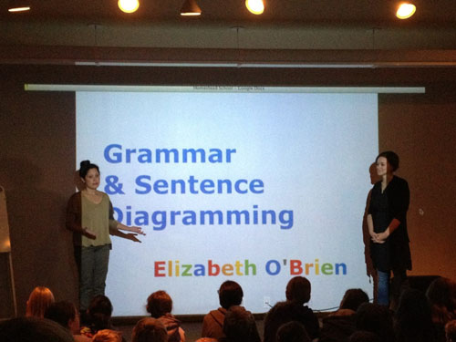 Elizabeth O'Brien Teaching Grammar