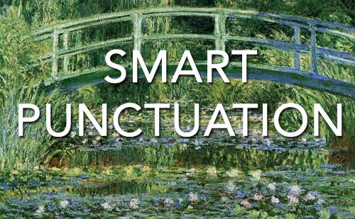 Smart Punctuation Challenge