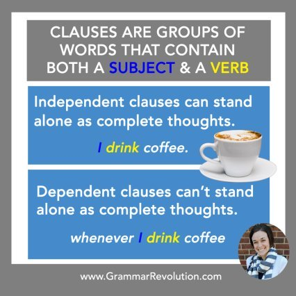 What are clauses?