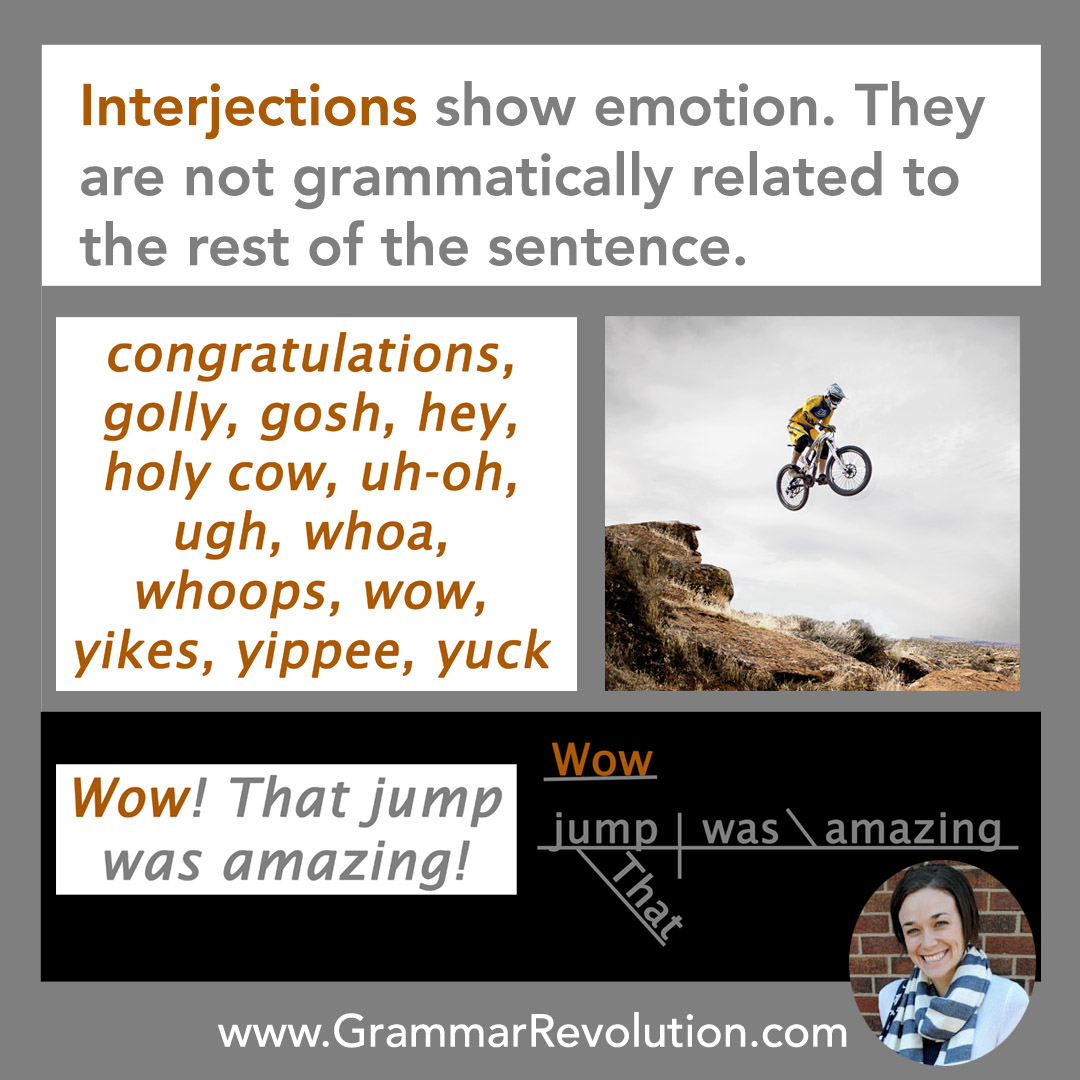 Interjections Poster