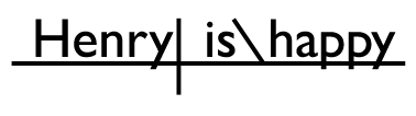 Sentence diagram linking verb