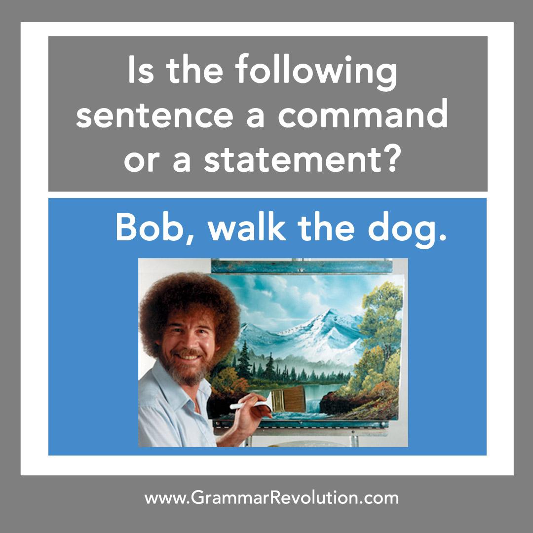 Bob Ross Grammar