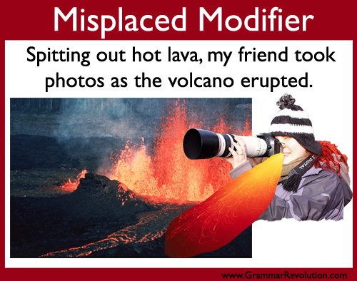 misplaced modifiers examples and corrections