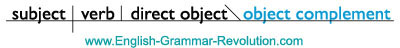 objective complement
