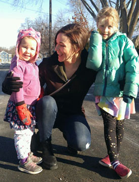Elizabeth O'Brien & kids