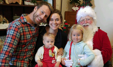 O'Brien Family Santa