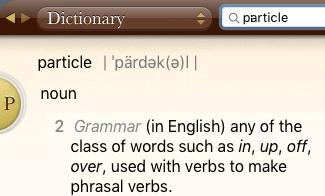 particle definition