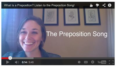 The Preposition Song Video