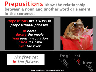 What is a preposition? Learn all about them here! www.GrammarRevolution.com/what-is-a-prepositions.html