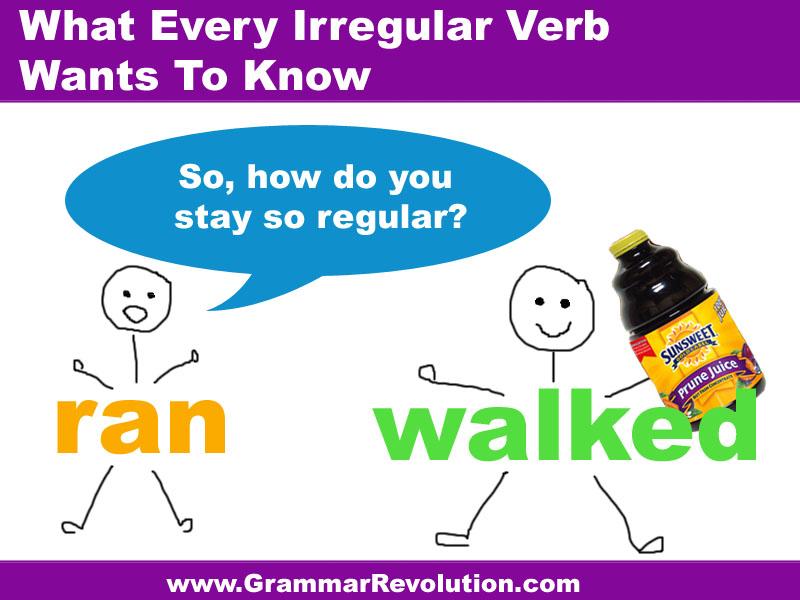 Irregular Verb Joke