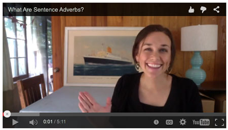Sentence Adverb Video