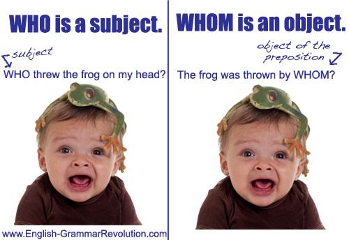 who vs whom