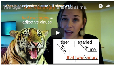 Adjective Clause Video