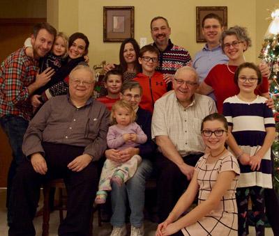 Elizabeth O'Brien family 2018