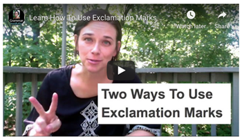 Exclamation Mark Video