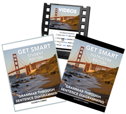Learn Grammar the Easy Way with Grammar Revolution's Get Smart Grammar Program (Sentence Diagrams Included!) Yay!