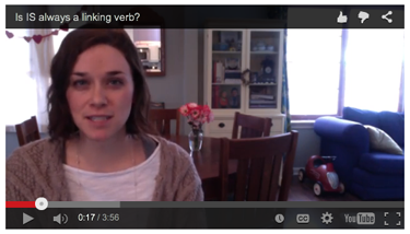 Linking verb video