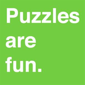 Puzzles are fun