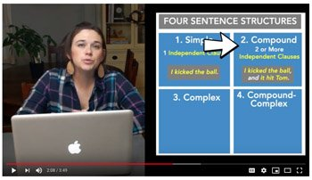 Sentence Structure Video
