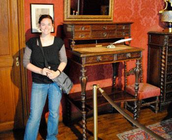 Elizabeth O'Brien Victor Hugo Desk