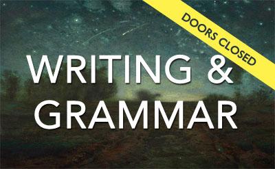 Grammar and Writing Challenge